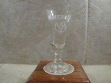 JAGERMEISTER CORDIAL STEMMED SHOT GLASS