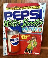 Vintage Pepsi Soda Can Battery Powered Water Shooter Larami 1989 80s 90s New NIB