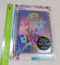 "My Little Pony Journal Notebook 8"" x 5.6"" Spiral Bound 60pgs Scratch & Sticker"