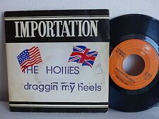 THE HOLLIAES Draggin my heels 8-50422 Pochette Lido musique