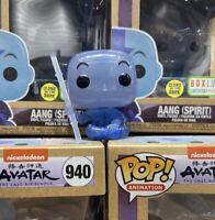💥💪🏼Funko Pop! Avatar: The Last Airbender Aang (Spirit) Glow-in-Dark BOX LUNCH
