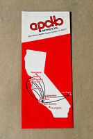 Apollo Airways Timetable - July 1, 1979