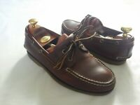 TIMBERLAND    MENS     BROWN    DECK  SHOES      UK   7    US   8    ESSENTIAL