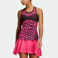 ADIDAS x STELLA McCARTNEY Court Tank Top Hot Pink/Black Women's Large NWT $70