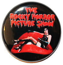 "1"" (25mm) 'The Rocky Horror Picture Show' 1975 Movie Button Badge Pin"