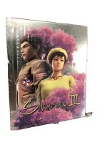 Shenmue 3 Limited Edition STEELBOOK Case (NO GAME INCLUDED) - Sealed PS4
