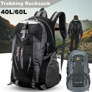 Wanderrucksack Tagesrucksack 40L 60L Outdoor Camping Rucksack Reiserucksack DE