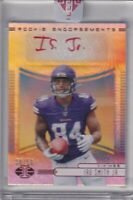 Irv Smith Jr 2019 Illusions Red Rookie Endorsements Refractor Rc Auto Sp (38/50)
