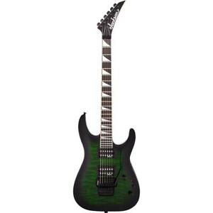 Jackson JS32Q DKA JS Series Dinky Arch Top Electric Guitar, Green Burst