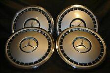 """4x orig. 16"""" Mercedes Benz Radkappen alte S Klasse / 1404010024 / s.g.Zust."""