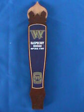 Widmer Brothers Raspberry Russian Imperial Stout Wodden Beer Tap Handle Man Cave