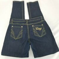 COOGI Jeans Low Rise Embroidered Denim Straight Leg Womens Size 9/10 length 33