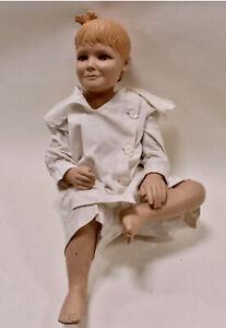 Vintage Mid Century Modern Department Store Full Body Mannequin Girl Child Fem