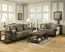 Ashley Furniture Martinsburg Sofa and Loveseat Meadow Classic 5730038