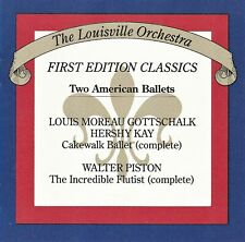 Two American Ballets/Cakewalk & The Incredible Flutist - Near Mint Cd Free Shpg