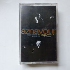 k7 CHARLES AZNAVOUR 20 chansons d or 831 982 4