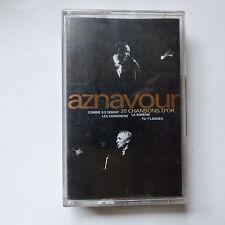 k7 CHARLES AZNAVOUR 20 chansons d or 831 982 4