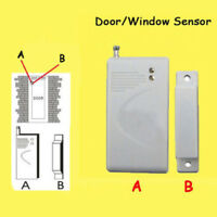 433MHz Wireless Door Window Entry Detector Sensor for Home Alarm System Security