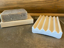 1 natural wood soap dishes - $1.19 each - made in USA - shipped from USA
