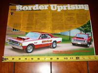 1968 DODGE SUPER STOCK DART - FACTORY RACE CAR - ORIGINAL 2014 ARTICLE