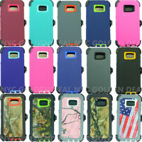 For Samsung Galaxy(S7/S7 Edge) case cover w/(Belt Clip Fits OtterBox Defender)