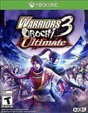 Warriors Orochi 3: Ultimate USED SEALED (Microsoft Xbox One, 2014)