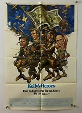 KELLYS HEROES Movie Poster (Fine) One Sheet 1970 Clint Eastwood 5503
