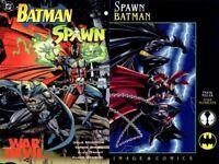 Spawn Batman Set Todd McFarlane Frank Miller Dark Knight War Devil New NM