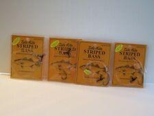 (4) Striped Bass Worm Drift Rigs