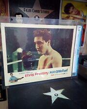 Elvis Presley as Kid Galahad (United Artists, 1962) Lobby Card #2 CGC 5.5 2nd