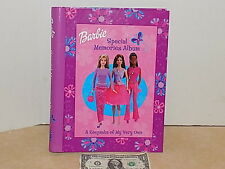 Barbie Doll 2002 Special Memories Album Keepsake Scrapbook