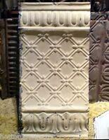 SALE Antique Victorian Ceiling Tin Tile Pie Cupboard Cabinet Doors Gothic Chic