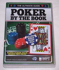 World Poker Tour Poker By The Book DVD 2 Disk Set + Bonus Cards New