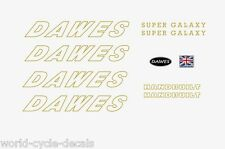 Dawes Super Galaxy Gold Decals-Transfers-Stickers #6