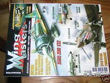 Wings Masters  n°26 Zero Macchi MC 202 Gotha GIII P-38J