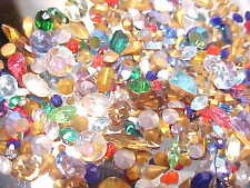 230 SWAROVSKI CRYSTAL RHINESTONES AUSTRIA HUGE LOT REPAIR JEWELRY LOOSE STONES