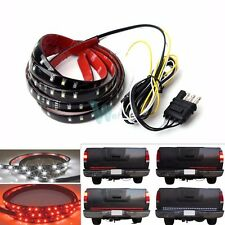 "60"" Tailgate Red White LED Reverse Brake Signal Light Strip for Truck SUV Jeep"