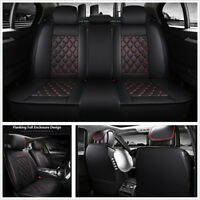 Luxury PU Leather Full Set Car Seat Covers For Mercedes Benz W203 C CLS CLK SLK