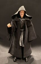 "MY-R2-BK: FIGLot Black Fabric Cloak Robe for 6"" Star Wars Figures"