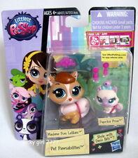 Littlest Pet Shop PET PAWSABILITIES Madame Pom LaBlanc PAPRIKA PRICE 3666 3667