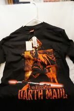 Yow! Darth Maul Dark Side Star Wars Shirt ~ Adult Xl ~ New Never Worn W Tags