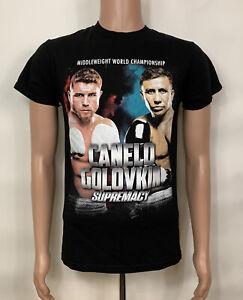 Canelo Alvarez Vs Golovkin GGG Boxing T Shirt 2017 Small Middleweight