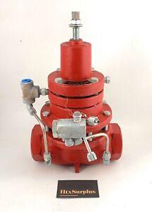 "🌟Kimray 230 SGT-PR-DI, 2"" (BU) Gas Back Pneumatic Pressure Regulator, 300psi"