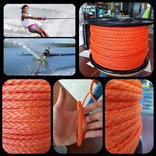 Cordage corde tressée polyéthylène 10mm x 100mts ski nautique ecrasement pulka
