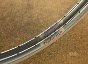 Vintage NOS NEW set (2) Ambrosio Balance clincher rims rimset felgen 36 hole