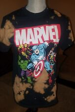 Marvel bleached forever 21 shirt small nwts