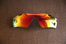 LensReplace Fire Red Iridium Polarized Replacement Lens to fit-Oakley Radar Path