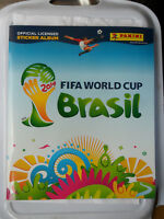PANINI 2014 FIFA WORLD CUP BRAZIL BRASIL STICKER ALBUM NEW UNUSED + RONALDO LLOR
