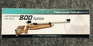 Feinwerkbau GmbH 800 Junior Air Rifle Luftgewehr sticker