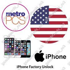METRO PCS USA iPhone 8 8+ UNLOCK CODE SERVICE CLEAN FINANCE 100% Success Rate